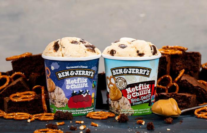 Ben & Jerry's выпустила новый вкус веганского мороженного Netflix & Chilll'd