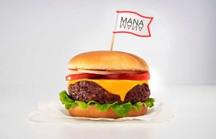 Mana запускает первый в мире сбалансированный веганский бургер