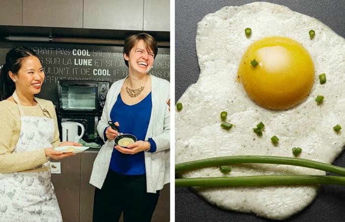 Женский стартап из Франции разработал веганские яйца со скорлупой