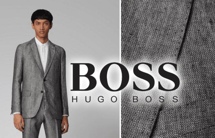 HUGO BOSS выпустил свой первый веганский мужской костюм, одобренный PETA