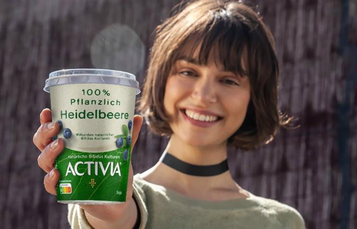 Danone продвигает веганские йогурты Activia по ТВ в Германии