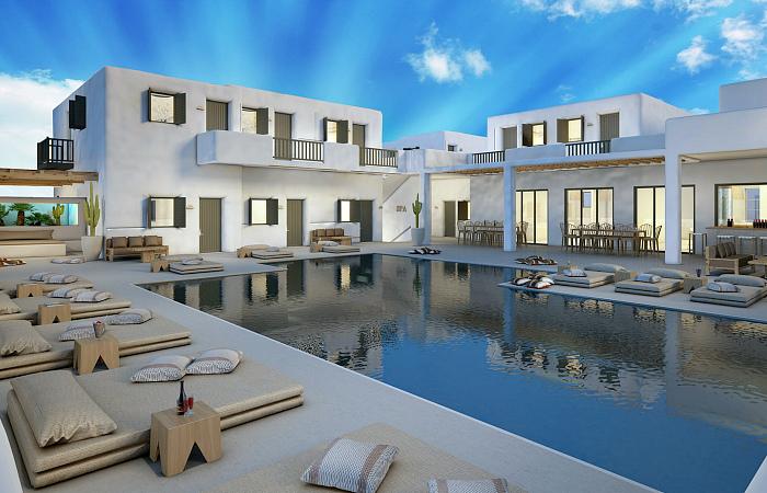 В Греции открылся первый полностью веганский отель